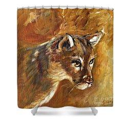 Florida Panther Shower Curtain