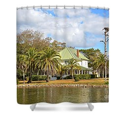 Florida Style Shower Curtain