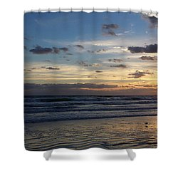 Shower Curtain featuring the photograph Florida Sunrise by Ally  White