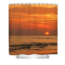 Florida Sunset Shower Curtain by Sandy Keeton