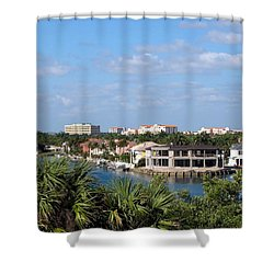 Florida Vacation Shower Curtain by MTBobbins Photography