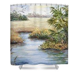 Florida Wilderness IIi Shower Curtain