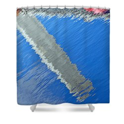 Floridian Abstract Shower Curtain by Keith Armstrong