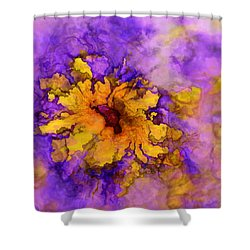 Floro - 50b Shower Curtain by Variance Collections