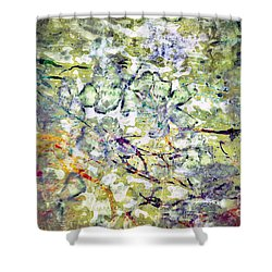 Flow- No1 Shower Curtain