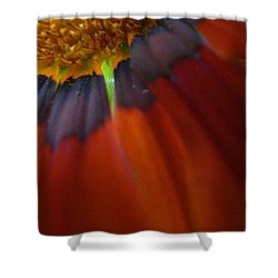 Shower Curtain featuring the photograph Flower by Andy Prendy