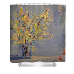 Flower Arrangement Exotic  Shower Curtain by Patricia Awapara