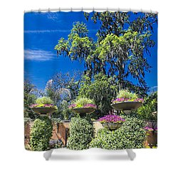 Flower Garden 04 Shower Curtain