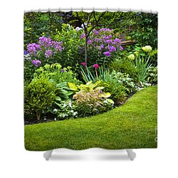 Flower Garden Shower Curtain by Elena Elisseeva