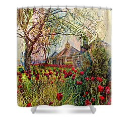 Flower Garden Series 02 Shower Curtain