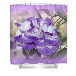 Flower In A Haze Shower Curtain