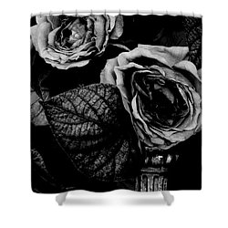 Shower Curtain featuring the photograph Flower Is Woman by Steven Macanka