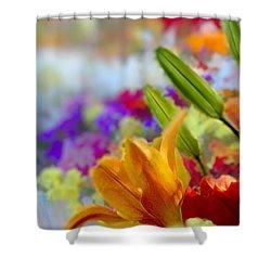 Flower Market 1 Shower Curtain