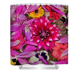 Flower Offerings - Jabalpur India Shower Curtain