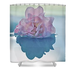 Flower On Water Shower Curtain