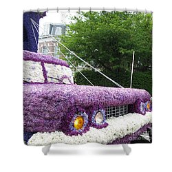 Flower Parade. 03 Blumencorso Holland 2011 Shower Curtain by Ausra Huntington nee Paulauskaite