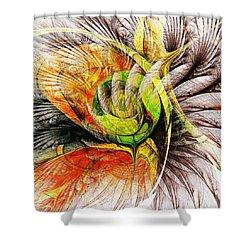 Flower Spirit Shower Curtain by Anastasiya Malakhova