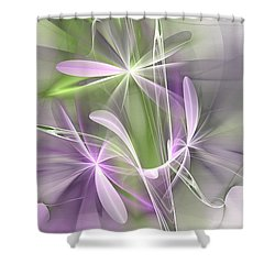 Flower Spirit Shower Curtain