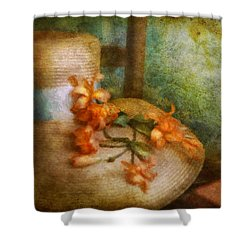 Flower - Still - Spring Fashion Shower Curtain by Mike Savad