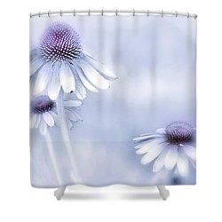 Flower Trio  Shower Curtain