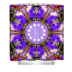 Flowergate Shower Curtain