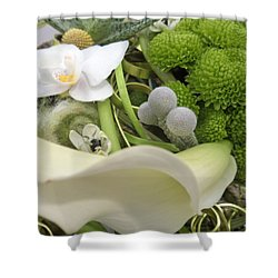 Flowering Love Shower Curtain