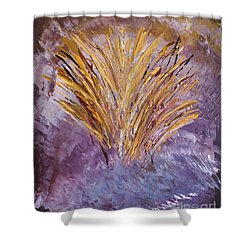 Flowering Nebula Shower Curtain