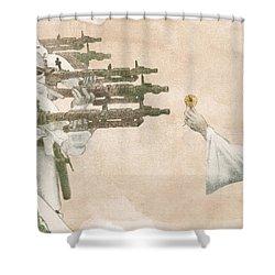 Flowers For Alderaan Shower Curtain