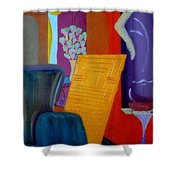 Flowers For Matisse Shower Curtain