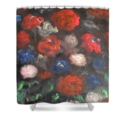 American Floral Shower Curtain