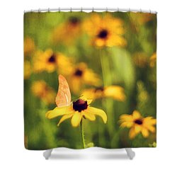 Flowers Of Summer Shower Curtain by Darren Fisher
