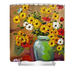 Flowers - Still Life Shower Curtain