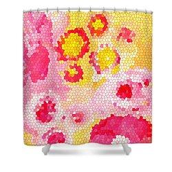 Flowers Vii Shower Curtain by Patricia Awapara