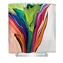 Flowery 5 Shower Curtain