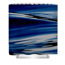 Flowing Movement Shower Curtain by Janice Westerberg