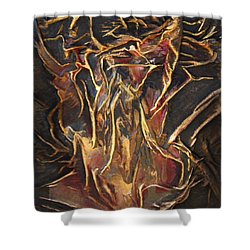 Flowing Tree Woman Shower Curtain