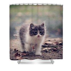 Fluffy Cuteness Shower Curtain