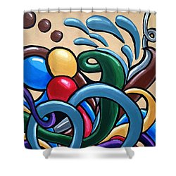 Fluid Series Part 6 Shower Curtain
