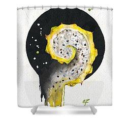 Fluidity 06 - Elena Yakubovich Shower Curtain by Elena Yakubovich