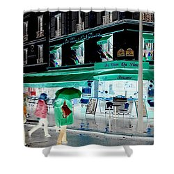 Fluidity In Motion  Shower Curtain