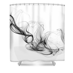Fluidity No. 2 Shower Curtain