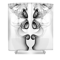 Fluidity No. 3 Shower Curtain