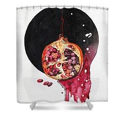 Fluidity Vii - Elena Yakubovich Shower Curtain by Elena Yakubovich