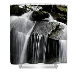 Fluke Fall Shower Curtain by Gary Eason