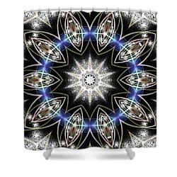 Flux Magnetism Shower Curtain