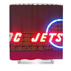 Fly Dc Jets Shower Curtain by Heidi Smith
