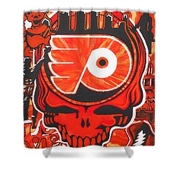 Flyer Love Shower Curtain by Kevin J Cooper Artwork