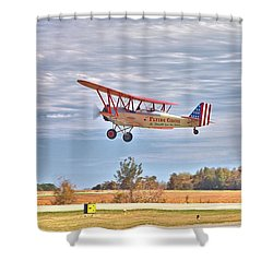 Flying Circus Barnstormers Shower Curtain