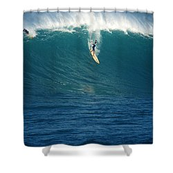 Flying Machine Shower Curtain by Kevin Smith