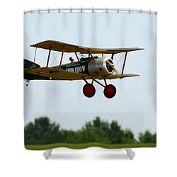 Flying Rc Shower Curtain by Thomas Young